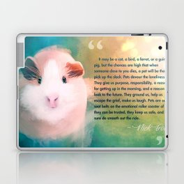 A Guinea Pig's Love Laptop & iPad Skin