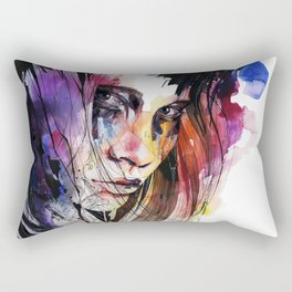 Eyes speak every language there is Rectangular Pillow