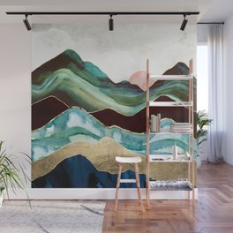 Velvet Mountains Wall Mural