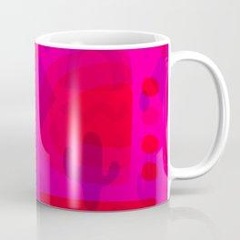 Neon Cutout Print Coffee Mug