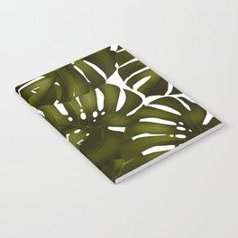 monstera leaves 3 Notebook