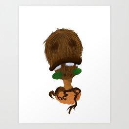 Coco Nuts Art Print