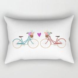 Bicycle Love Rectangular Pillow