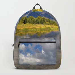 The Grand Tetons Panorama Backpack