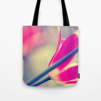 tulips Tote Bags featuring tulips by Falko Follert Art-FF77