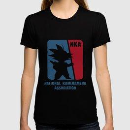 National Kamehameha Association Dragon Ball Goku T-Shirts T-shirt