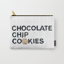 Favourite Things - Chocolate Chip Cookies Carry-All Pouch