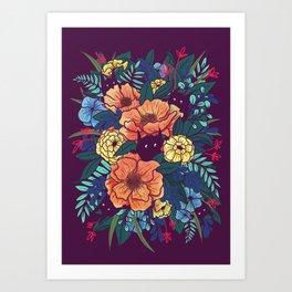 Wild Flowers Kunstdrucke