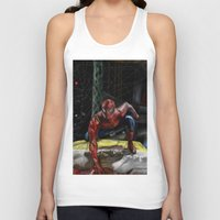 comic book Tank Tops featuring comic by Fila Venom Art