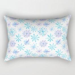 Snowflakes Rectangular Pillow
