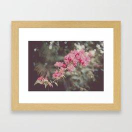 Vintage Flower Dream Framed Art Print