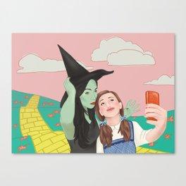 Dorothy Takes a Selfie Canvas Print