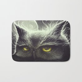 Owl & The Moon Bath Mat