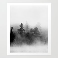 shrouded Art Print