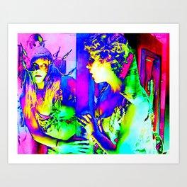 Mirror Image (almost) Art Print