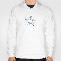 starfish Hoodies featuring Starfish by Josè Sala