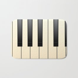 Piano Keys Bath Mat
