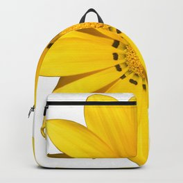 Yellow flower / dots Backpack