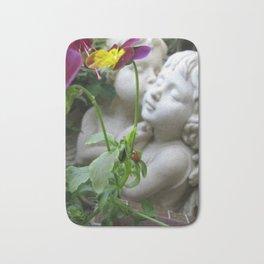 Love Amidst the Flowers Bath Mat