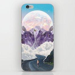CRYSTAL MOUNTAIN TOPS iPhone Skin