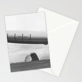 CA USS Macon at North Circle Nasa Sunnyvale Mt View Stationery Cards