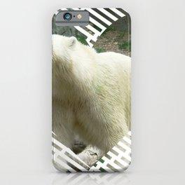 Polar Baer in heart shape iPhone Case