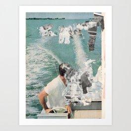 Daze (sea) Art Print