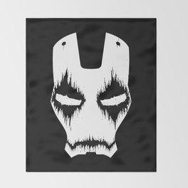 Black Iron Throw Blanket