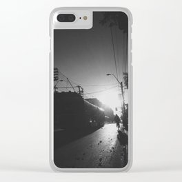 Shine On - #views series Clear iPhone Case