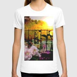Sunset Balcony T-shirt