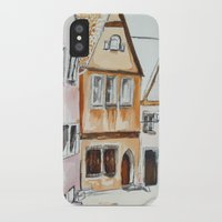 german iPhone & iPod Cases featuring German Street by picturefire