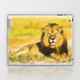 Magnificent Lion Laptop & iPad Skin