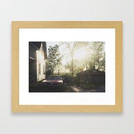Outlying Framed Art Print