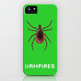 Vampires iPhone Case