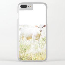 Not a lamb Clear iPhone Case