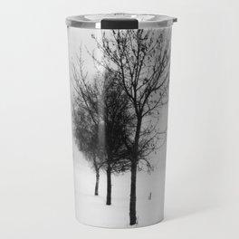 Pure White V Travel Mug