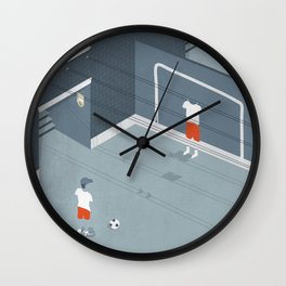 I was an only son Wall Clock