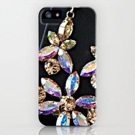 Diamond Flowers iPhone Case