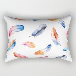 Autumn Feathers Rectangular Pillow