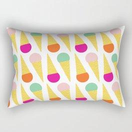 Ice Cream Cone 01 Rectangular Pillow