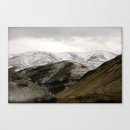 Powder Sugar Mountains Canvas Print