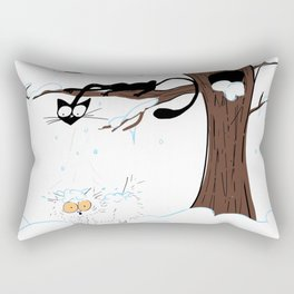 Snow Day Rectangular Pillow