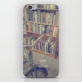 I Am Alive iPhone Skin