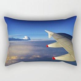 sunrise in the sky Rectangular Pillow