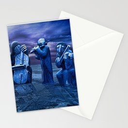 Music Frozen In Time. Stationery Cards