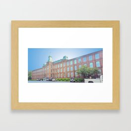 international entrepreneurship center Framed Art Print