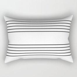 The Musician Rectangular Pillow