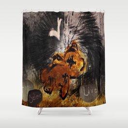 The fallen ones Shower Curtain