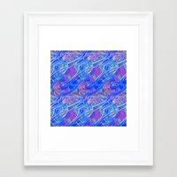life aquatic Framed Art Prints featuring Aquatic by BellagioVista