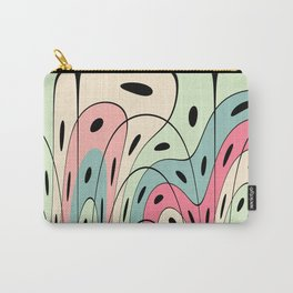 Wavy pastel shapes Carry-All Pouch